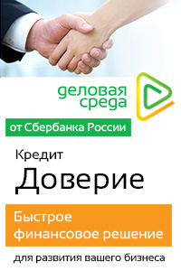Деловая Среда от Сбербанка [Кредит Доверие][corporate credits][status_lead]
